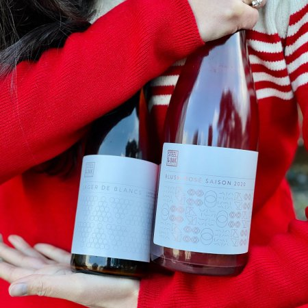 Steel & Oak Brewing Releases Blush Rosé Saison and Lager de Blancs Pinot Lager