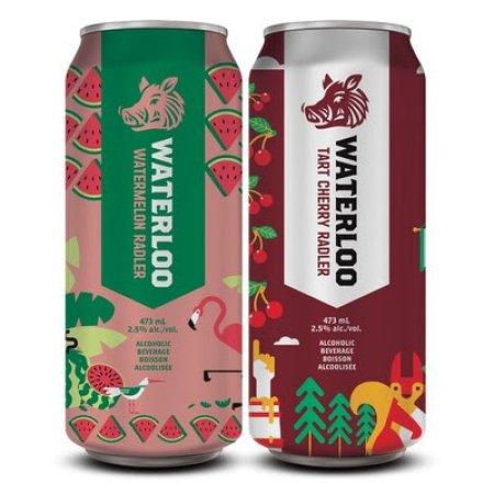 Waterloo Brewing Releases Watermelon Radler and Tart Cherry Radler