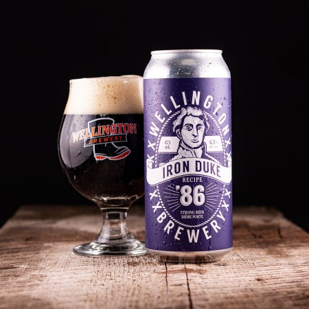 Wellington Brewery Releases Iron Duke Strong Ale and Faces Mosaic & Simcoe DIPA