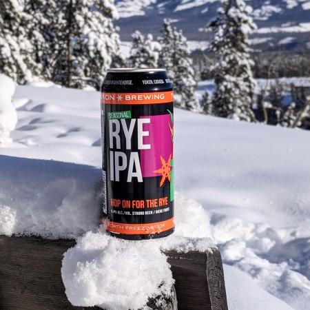 Yukon Brewing Releases Rye IPA