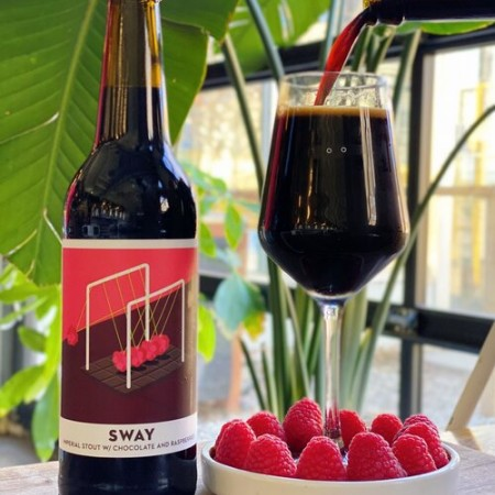 Bandit Brewery Releases Sway Chocolate & Raspberry Imperial Stout