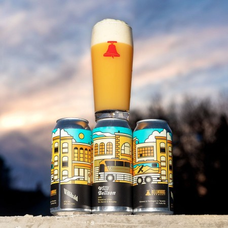 Bellwoods Brewery and Willibald Farm Distillery & Brewery Release Willi Bellson DIPA