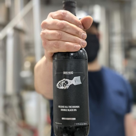 Big Rig Brewery Releases Release All the Hounds Double Black IPA