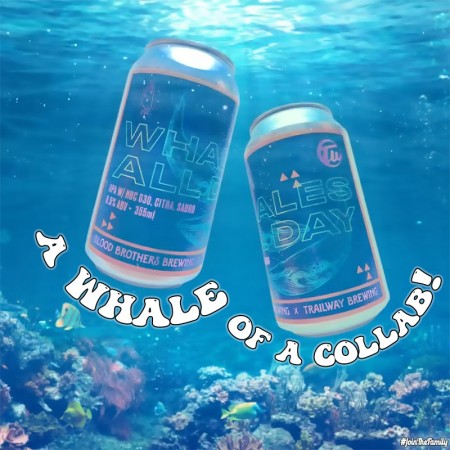Blood Brothers Brewing and Trailway Brewing Release Whales All Day IIPA