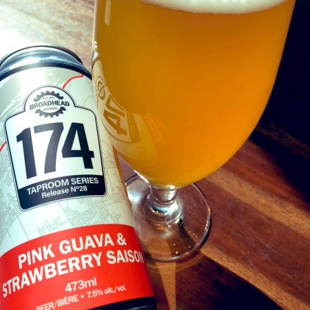 Broadhead Brewery Taproom Series Continues with Pink Guava & Strawberry Saison