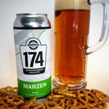 Broadhead Brewery Taproom 174 Series Continues with Märzen