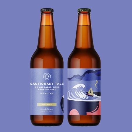 Collective Arts Toronto Releases Cautionary Tale IPA