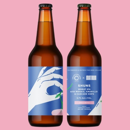 Collective Arts Toronto and Matron Fine Beer Release Shuns Wheat IPA