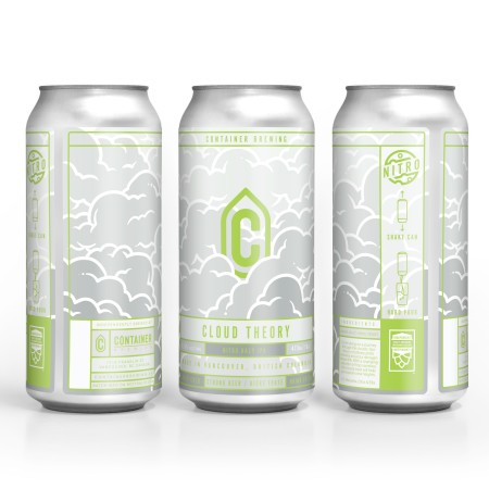 Container Brewing Releasing Cloud Theory V2 Nitro IPA