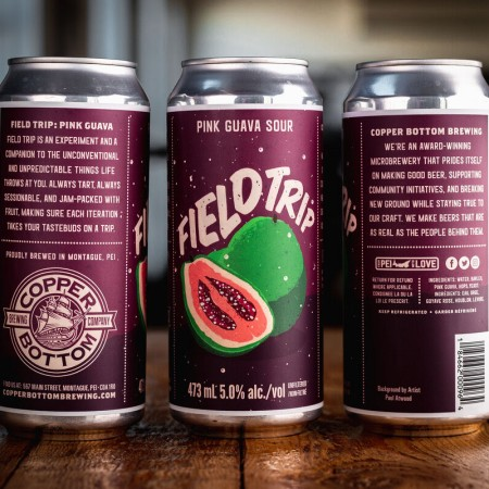 Copper Bottom Brewing Releases Field Trip Pink Guava Sour