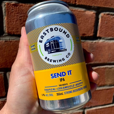 Eastbound Brewing Releases Send It IPA