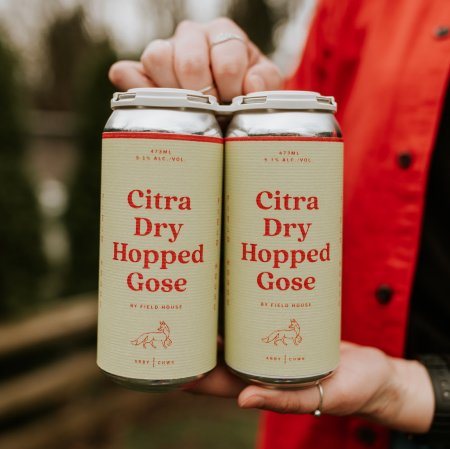 Field House Brewing Brings Back Citra Dry-Hopped Gose