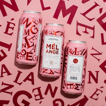 Four Winds Brewing Releases 2021 Edition of Mélange Tart Farmhouse Ale