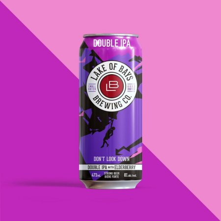 Lake of Bays Brewing Releases Don't Look Down Double IPA with Elderberry
