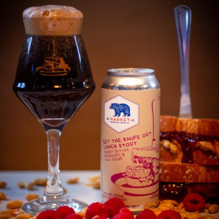 Market Brewing Releases Get the Knife Out Lunch Stout
