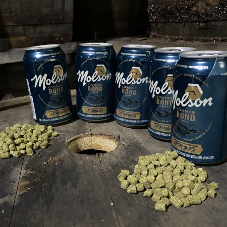 Molson Coors and J.P. Wiser's Whisky Release Common Bond Lager