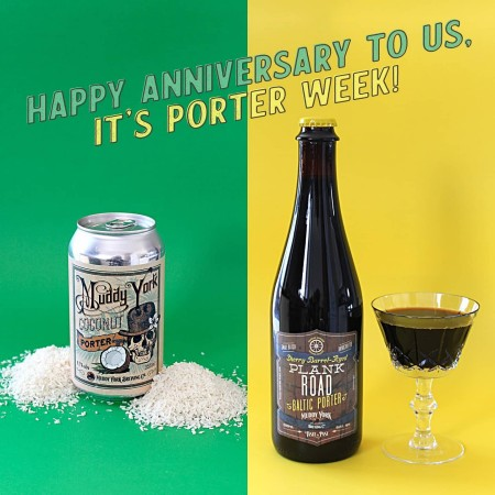 Muddy York Brewing Brings Back a Pair of Porters for 6th Anniversary