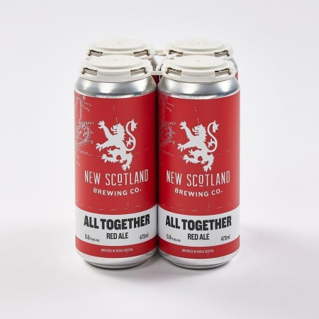 New Scotland Brewing Releases All Together Red Ale for MS Society of Canada