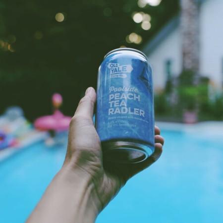 Old Yale Brewing Brings Back Poolside Peach Tea Radler