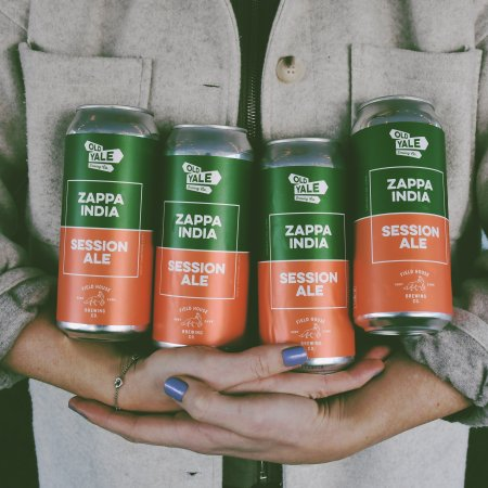 Old Yale Brewing and Field House Brewing Release Zappa India Session Ale