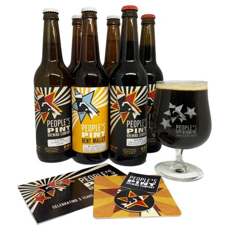People's Pint Brewing Releases Third Anniversary Mixed Pack