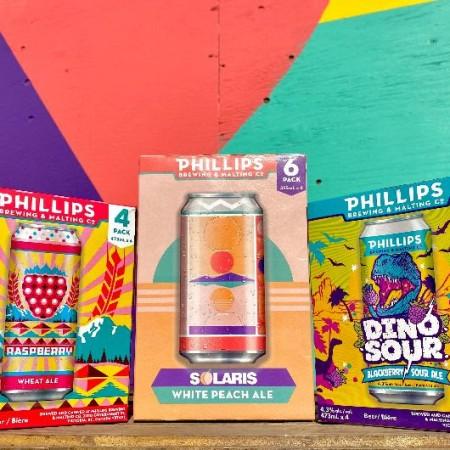 Phillips Brewing Brings Back Three Summer Seasonals