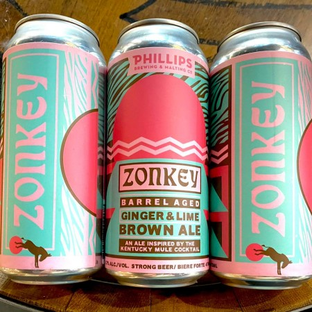 Phillips Brewing Releases Zonkey Barrel Aged Ginger & Lime Brown Ale