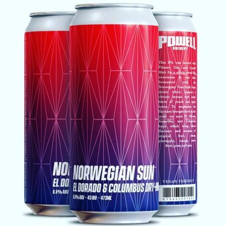 Powell Brewery Releasing Norwegian Sun Oat IPA