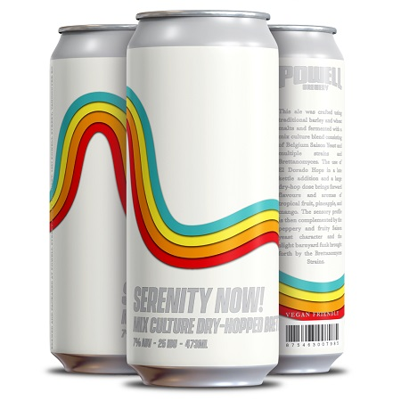 Powell Brewery Releases Serenity Now! Brett Saison