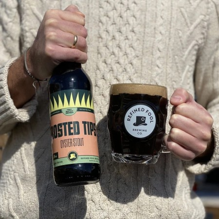 Refined Fool Brewing Tiny Batch Series Continues with Frosted Tips Oyster Stout