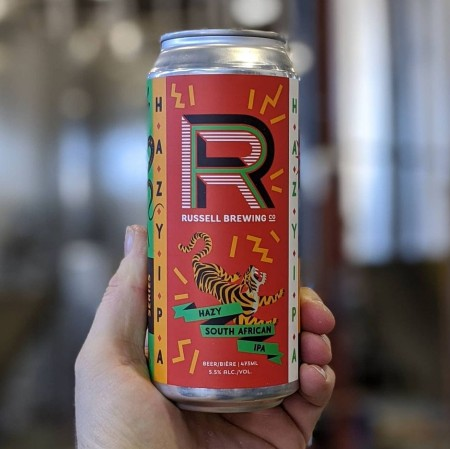Russell Brewing Launches South African Series with Hazy IPA