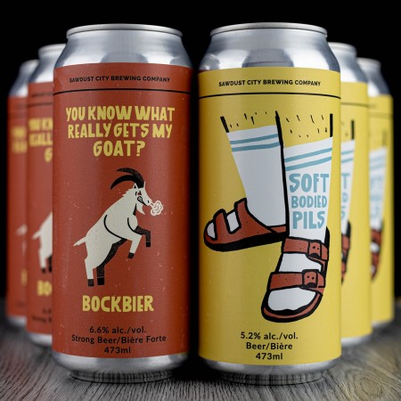 Sawdust City Brewing Launches Lager Series with Soft Bodied Pils and You Know What Really Gets My Goat? Bockbier