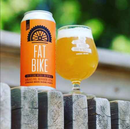 The Second Wedge Brewing Fat Bike Double IPA Now at LCBO