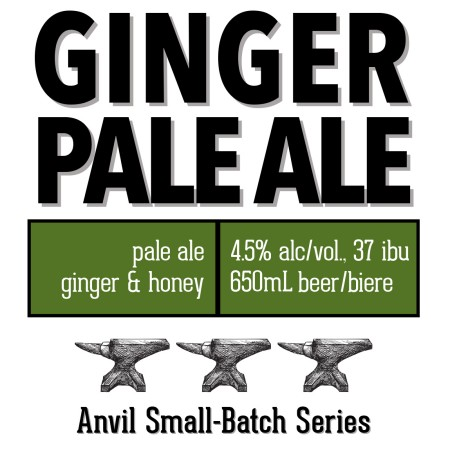 Shawn & Ed Brewing Anvil Small-Batch Series Continues with Ginger Pale Ale