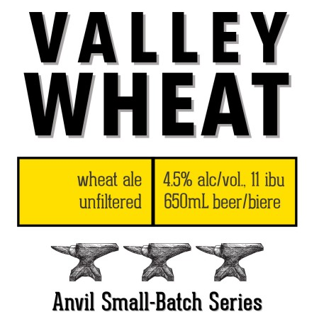 Shawn & Ed Brewing Anvil Small-Batch Series Continues with Valley Wheat Ale