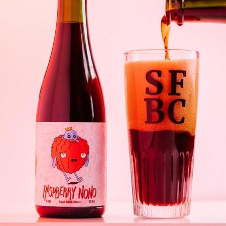 Short Finger Brewing Releases Raspberry NoNo Sour Raspberry Stout