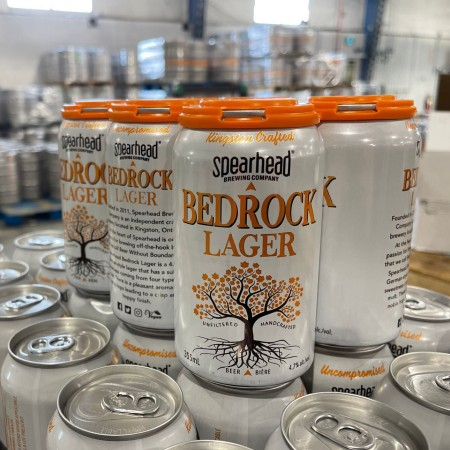 Spearhead Brewing Launches Vault Series with Bedrock Lager