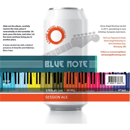 Stone Angel Brewing Releases Blue Note Session Ale