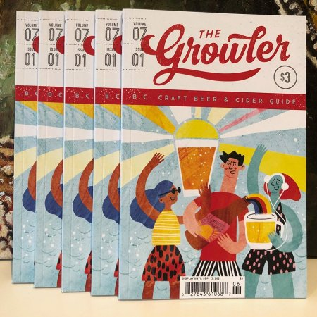 The Growler BC Spring/Summer 2021 Issue Now Available
