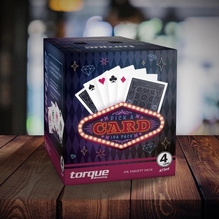 Torque Brewing Releases Pick a Card IPA Pack