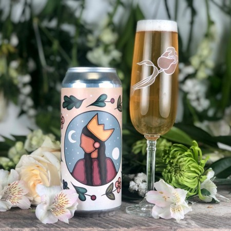 Wellington Brewery Releases Queen of Craft Witbier with Flowers