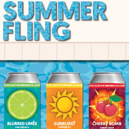 Alley Kat Brewing Releases Summer Fling Mixed Pack