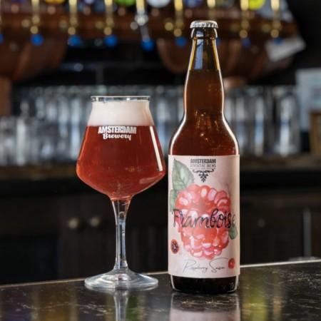 Amsterdam Brewery Releases Framboise Raspberry Saison