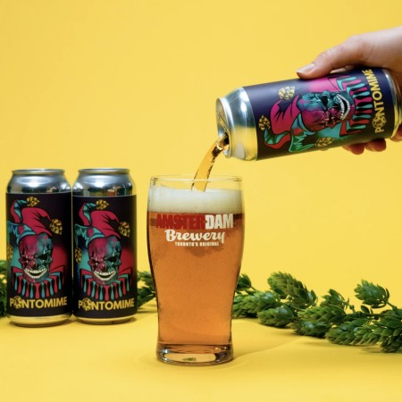 Amsterdam Brewery Releases Dutch Amber Lager, Starke Pilsner and Pantomime Golden Ale