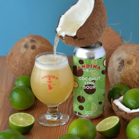 Andina Brewing Releases Cocada Coconut Lime Sour