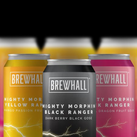 BREWHALL Releases Mighty Morphin Sour Rangers Series