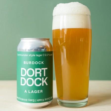 Burdock Brewery Releases DortDock Dortmunder Style Lager