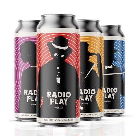 Cabin Brewing Releases Radio Play Pale Ale for Vertigo Theatre
