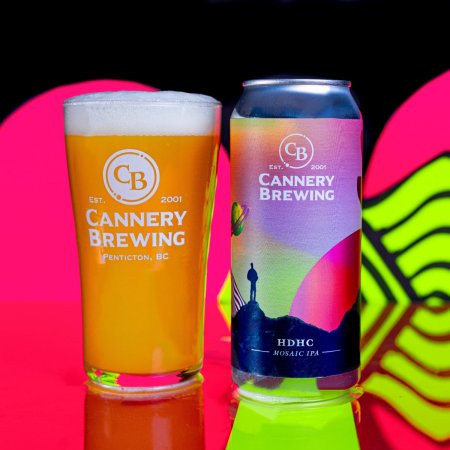 Cannery Brewing Releases HDHC Mosaic IPA