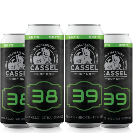 Cassel Brewery Releasing NEIPAs #38 and #39
